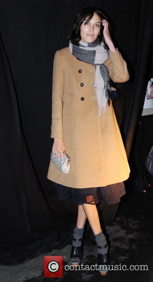 Alexa Chung, Jaime Winstone London Fashion Week A/W...