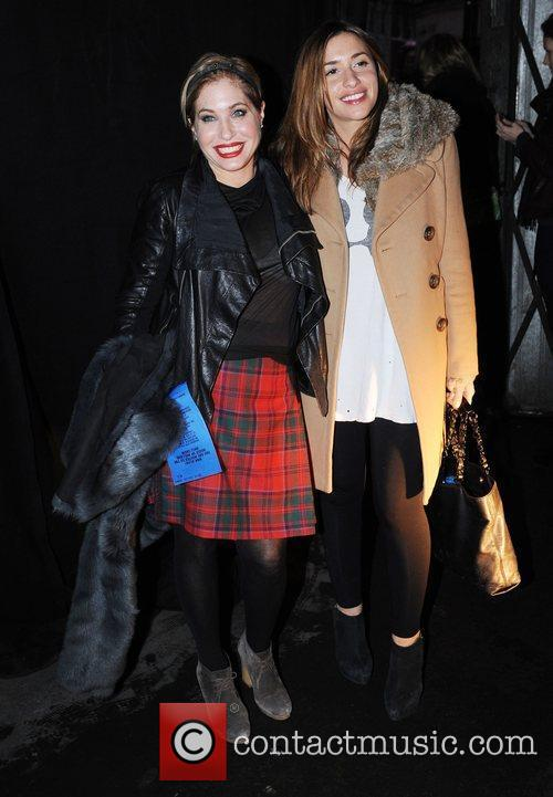 Guest and Melanie Blatt London Fashion Week A/W...