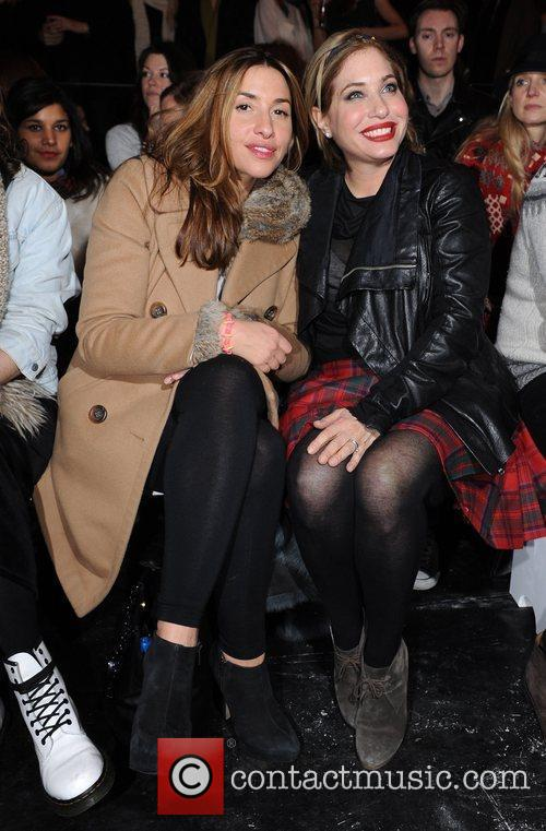 Melanie Blatt and Guest London Fashion Week A/W...