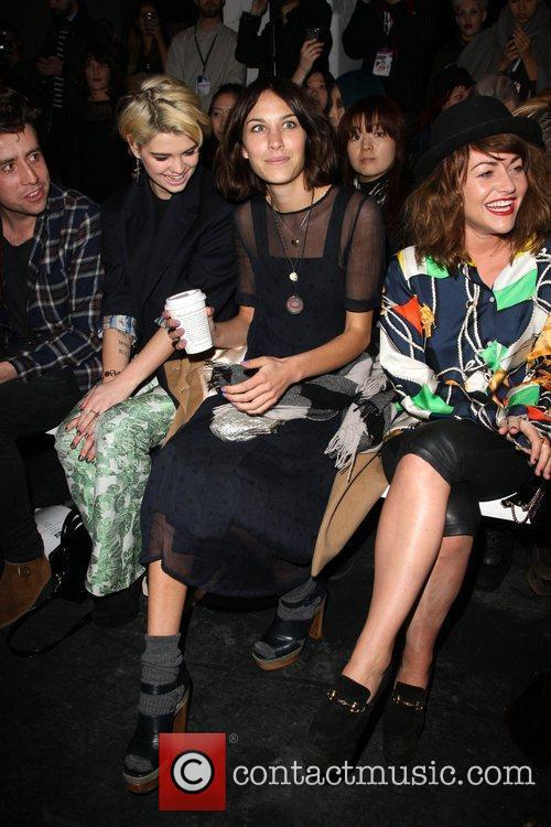 Pixie Lott, Alexa Chung, Jaime Winstone London Fashion...