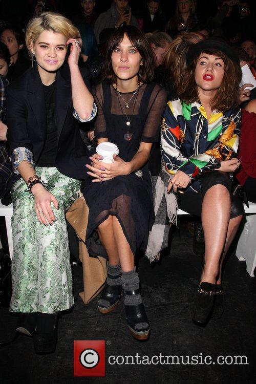 Pixie Lott, Alexa Chung and Jaime Winstone London...
