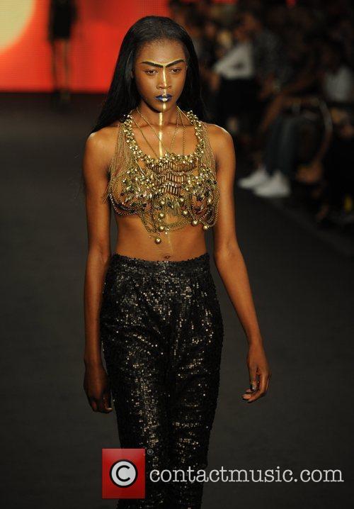 Model, Paloma Faith and London Fashion Week 6