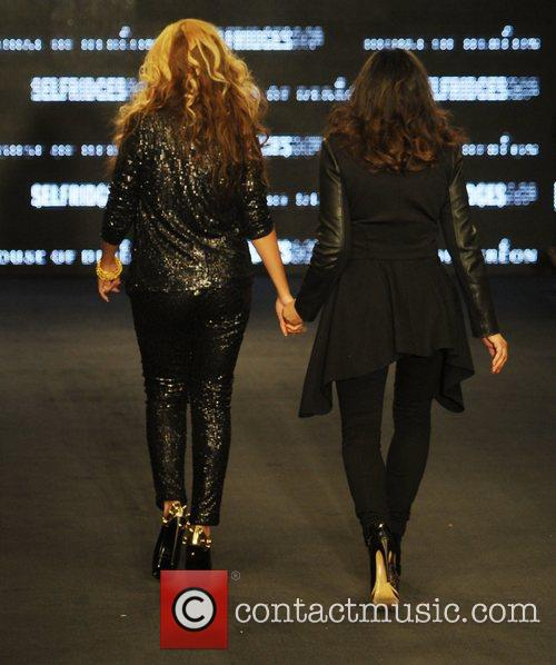Tina Knowles, Beyonce Knowles and London Fashion Week 7