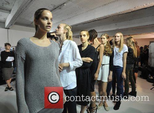 Models London Fashion Week Spring/Summer 2012 - House...