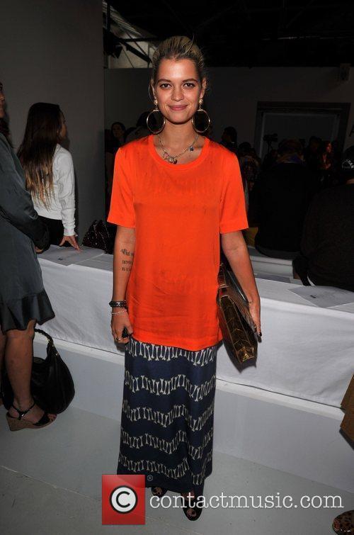 Pixie Geldof London Fashion Week Spring/Summer 2012 -...