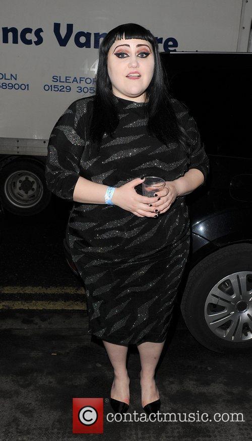 Beth Ditto London Fashion Week A/W 2011: Julian...
