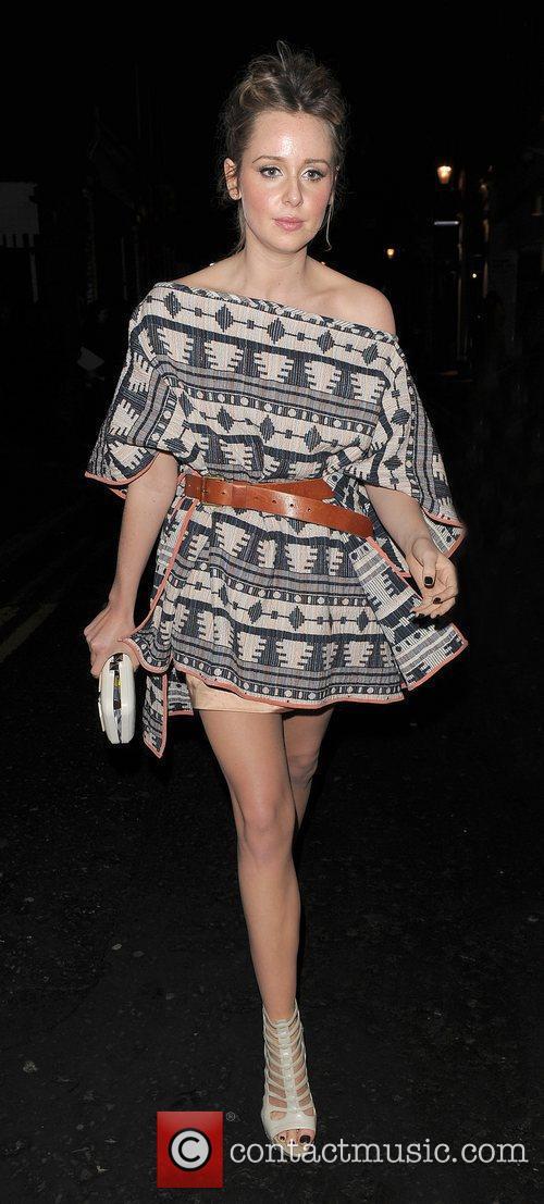 Diana Vickers London Fashion Week A/W 2011: Julian...