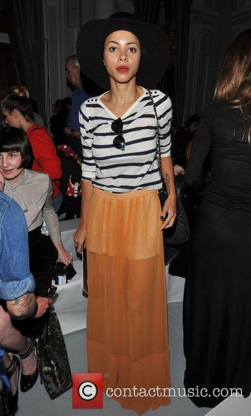 London Fashion Week Spring/Summer 2012 - Kinder Aggugini...