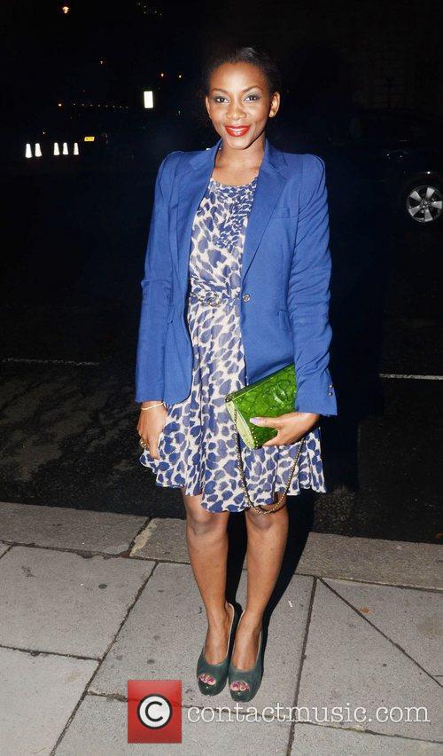 Genevieve Nnaji London Fashion Week Spring/Summer 2012 -...