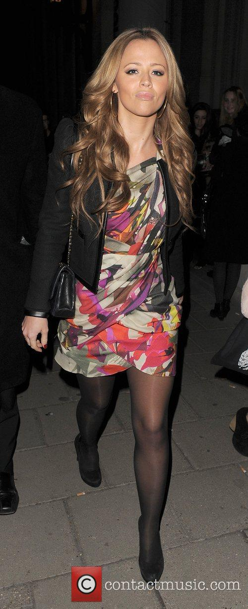 Kimberley Walsh London Fashion Week A/W 2011 -...