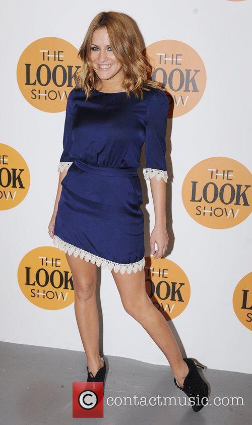 Caroline Flack London Fashion Week A/W 2011 -...