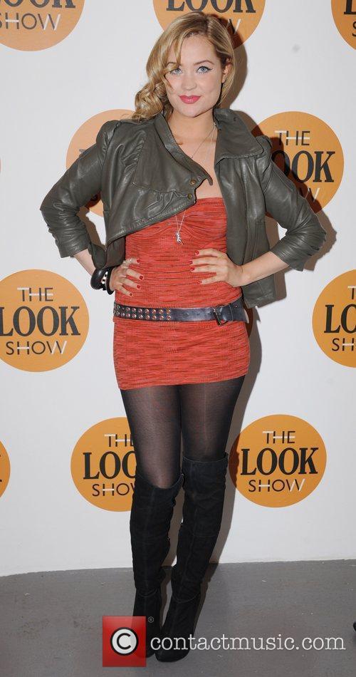 Laura Whitmore  London Fashion Week A/W 2011...