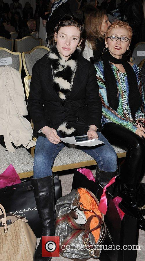 Camilla Rurtherford London Fashion Week A/W 2011- Maria...