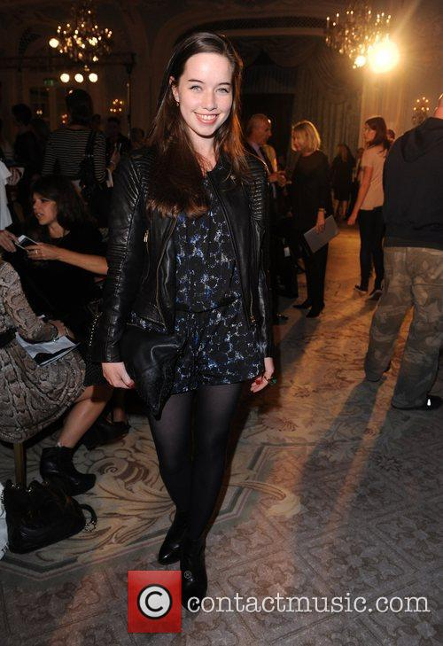 Anna Popplewell, London Fashion Week