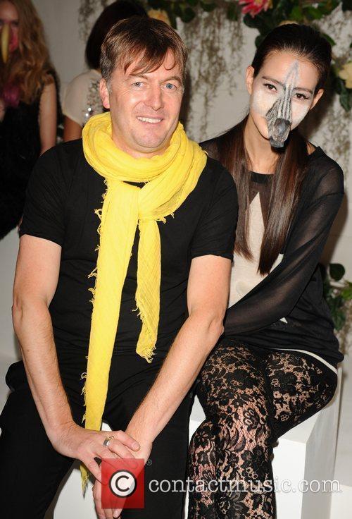 Markus Lupfer and Models  London Fashion Week...