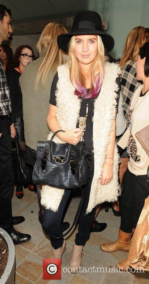 Melissa Montogomery tends the London Fashion Week Spring/Summer...