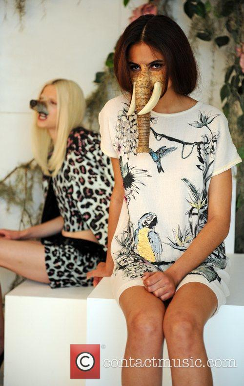 Model, Sadie Frost and London Fashion Week 4