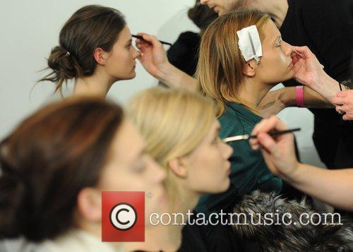 Models London Fashion Week A/W 2011 - Matthew...