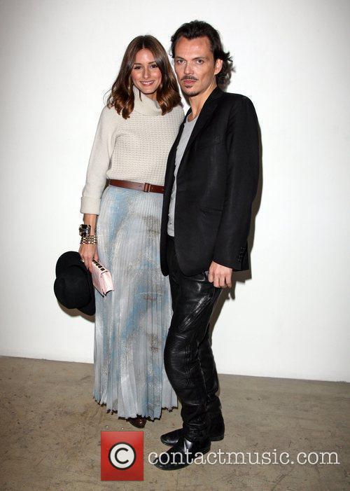 Olivia Palermo and Matthew Williamson London Fashion Week...