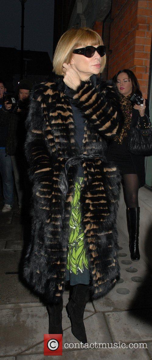 Anna Wintour  London Fashion Week A/W 2011...