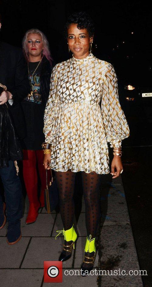 Kelis  London Fashion Week Spring/Summer 2012 -...