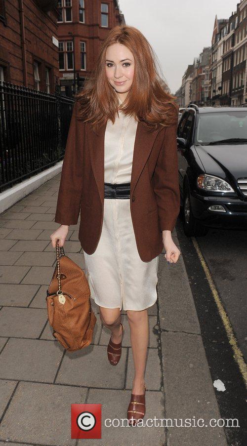 Karen Gillan London Fashion Week A/W 2011 -...
