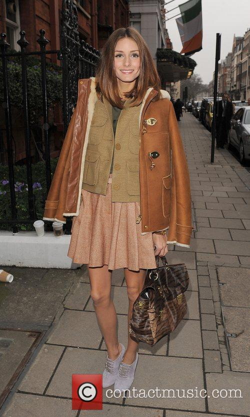 Olivia Palermo London Fashion Week A/W 2011 -...
