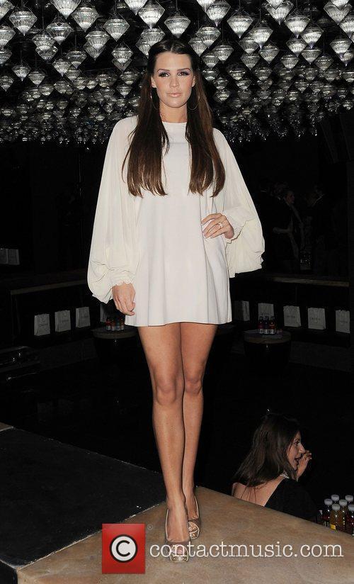 Danielle Lloyd London Fashion Week A/W 2011 -...