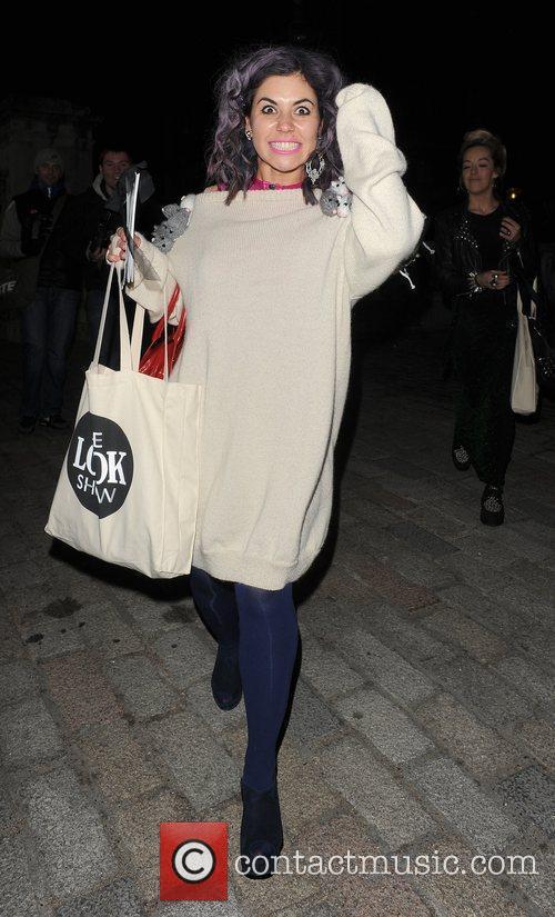 Marina Lambrini Diamandis of Marina & The Diamonds...
