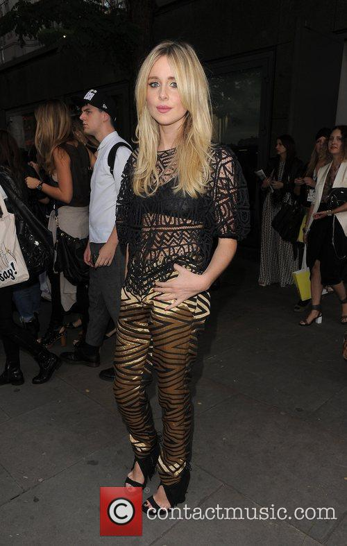 Diana Vickers and London Fashion Week 5