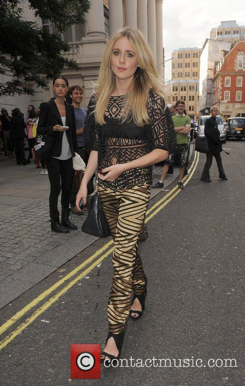Diana Vickers and London Fashion Week 4