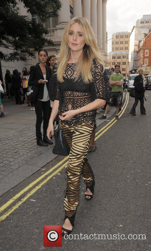 Diana Vickers and London Fashion Week 6