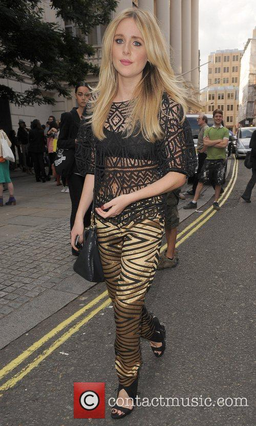 Diana Vickers and London Fashion Week 9
