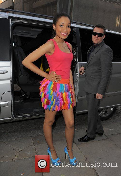 Dionne Bromfield and London Fashion Week 1