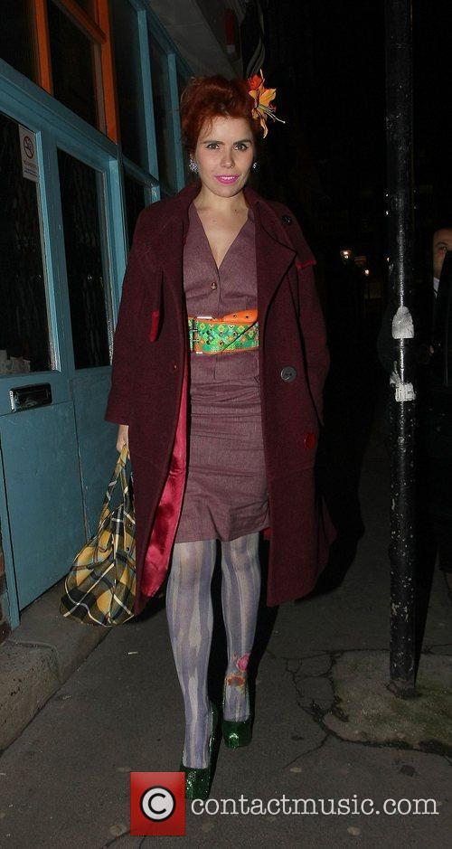 Paloma Faith, Pam Hogg, London Fashion Week