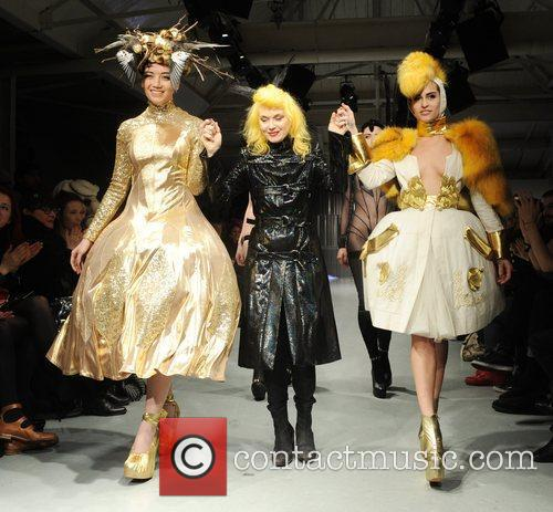 Daisy Lowe, Pam Hogg and Alice Dellal...