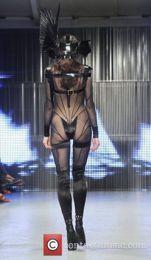 Model   London Fashion Week A/W 2011...