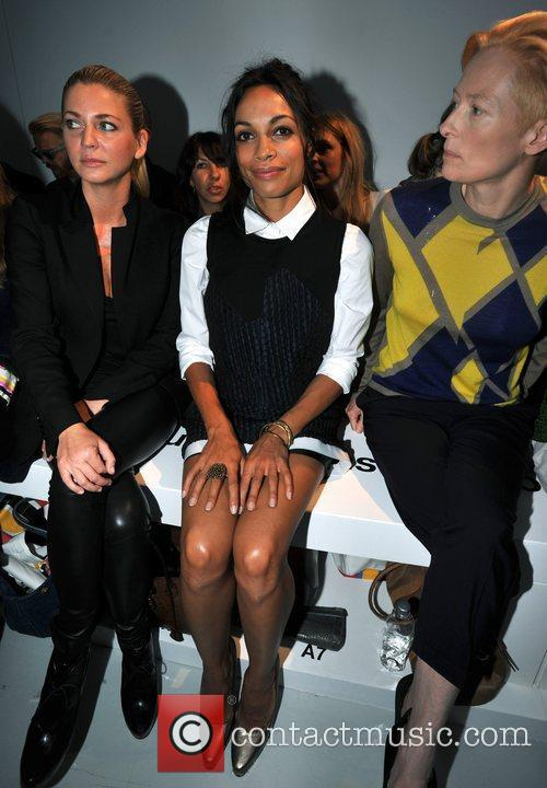 Rosario Dawson and London Fashion Week 1