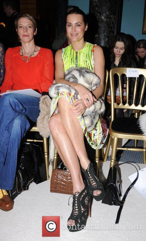 Yasmin Le Bon and London Fashion Week 1