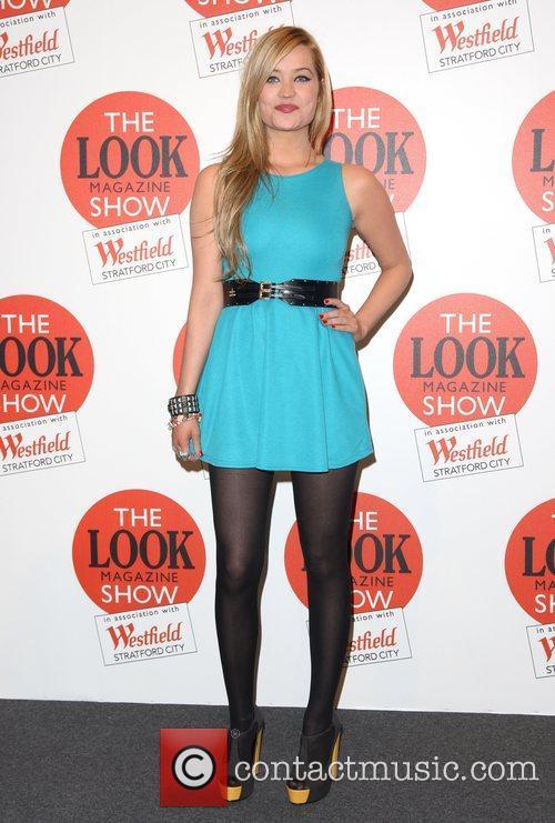 Laura Whitmore The Look magazine fashion show 2011...