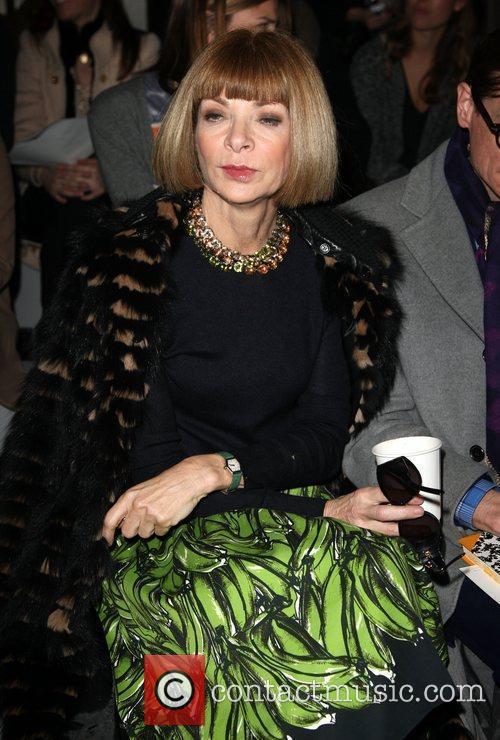 Anna Wintour London Fashion Week A/W 2011 -...