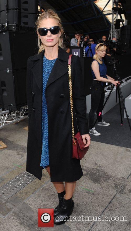 Laura Bailey and London Fashion Week 5