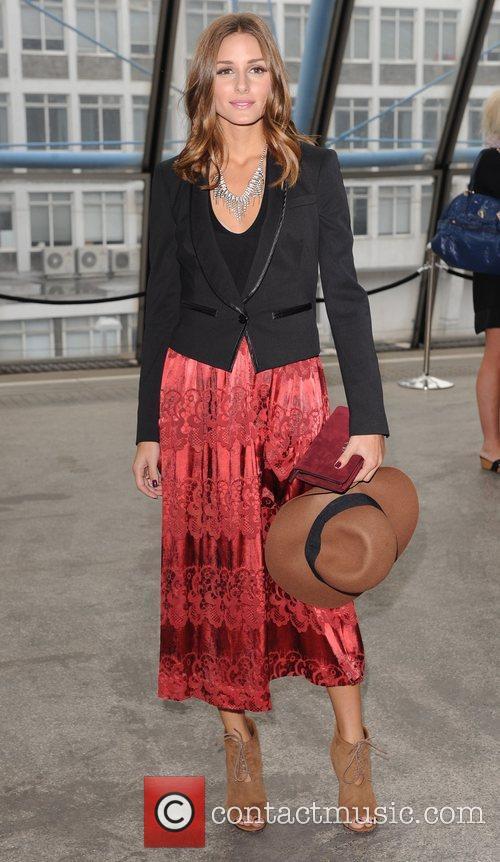 Olivia Palermo London Fashion Week Spring/Summer 2012 -...