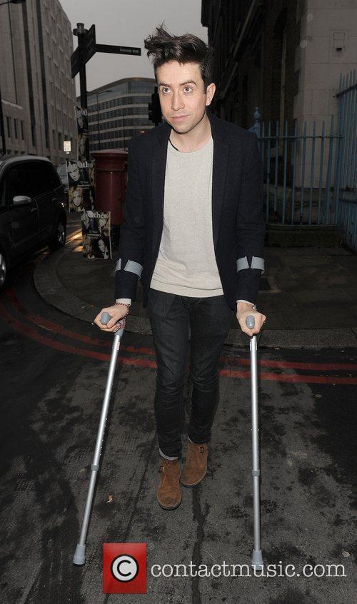 Nick Grimshaw London Fashion Week A/W 2011 -...