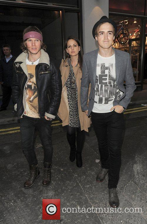 Dougie Poynter, Tom Fletcher and London Fashion Week 3