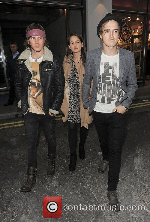 Dougie Poynter, Tom Fletcher and London Fashion Week 2