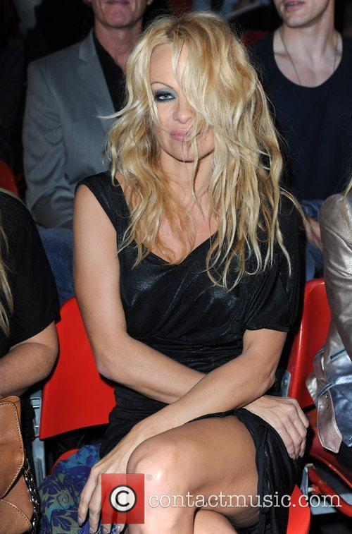 Pamela Anderson and London Fashion Week 2