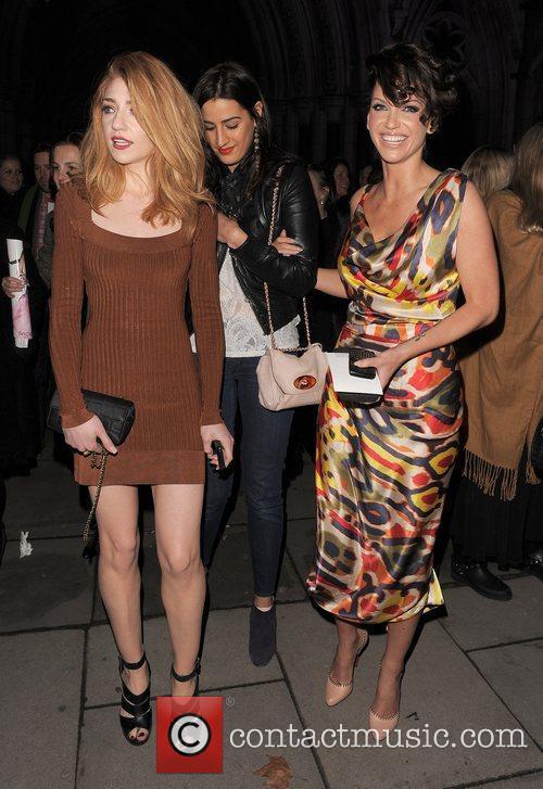 Nicola Roberts, Sarah Harding, Vivienne Westwood, London Fashion Week