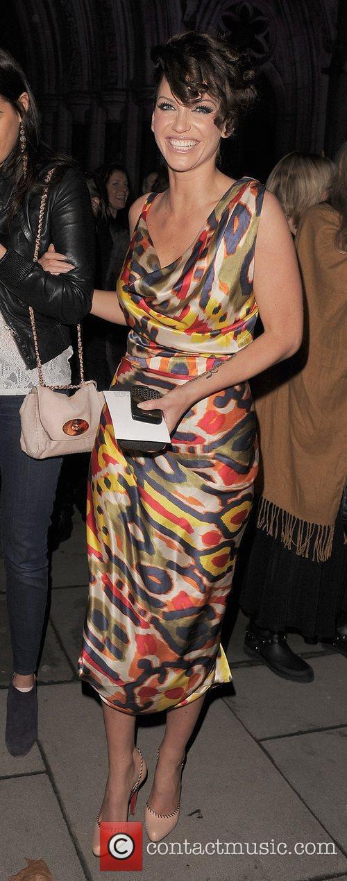 Nicola Roberts, Sarah Harding and Vivienne Westwood 21