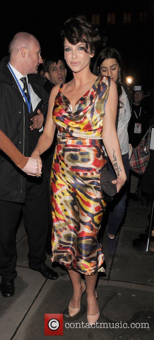 Sarah Harding, Vivienne Westwood, London Fashion Week